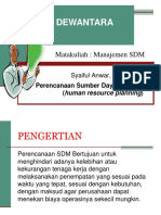 2. Perencanaan SDM