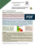 Cartel Can Cun. Riesgo de Prediabets Usuarios Progr Ejerc. Fís. - Mayo 2019 - Editado
