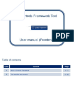 E-Control Framework Tool User Manual User
