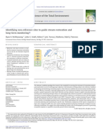 Identifying non-reference sites to guide stream restoration and long-term monitoring