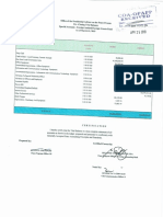 Pre-Closing Trial Balance - Foreign Assisted as of 31 March 2019