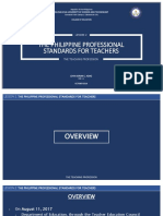 Philippine professional standard for teacher module