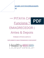 → PITAYA CAPS  Funciona ? EMAGRECEDOR   Antes & Depois