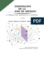 Demostración de Hipotesis de Riemann