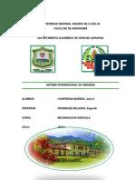 Sistema Internacional de Unidades Informe