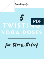 5 Twisting Yoga Poses for Stress Relief