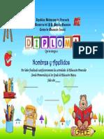 Diploma Con Letras Dado [UtilPractico.com]