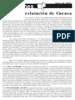 Calvo, Blanca- Declaración de Cuenca.pdf