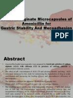 Chitosan-Alginate Microcapsules of Amoxicillin for.pptx