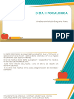 Dieta Hipocalorica e Hipercalorica