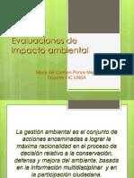 Capacitación Evaluaciones de Impacto Ambiental 1