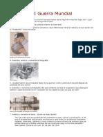 Cuestionario I Guerra Mundial
