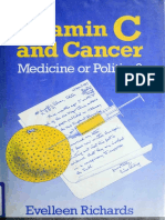Vitamin C and Cancer _ Medicine or Politic - Richards, Evelleen