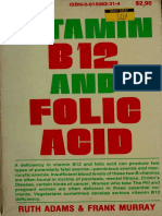 Vitamin B12 and Folic Acid - Ruth Adams