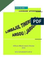 Limbajul Tinerilor-Argou Jargon