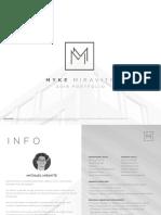 Mychael Miravite - Portfolio of Works 2019