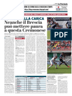 La Provincia Di Cremona 03-05-2019 - E Domani Alla Carica