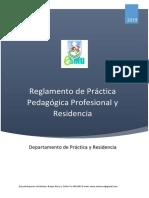 Reglamento de Práctica y Residencia 2019 Final