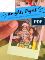 Knights Digest | Leo Club of Colombo Knight's Official Newsletter | February 2019