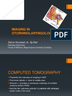 Imaging in Otorhinolaryngology
