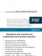 PROCESOS DE PROBLEMATIZACION