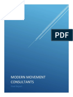 modern movement consultants final report
