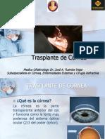 Trasplante de Cornea UNSAAC FMH 2017