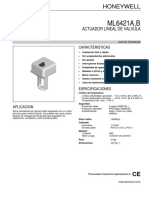 Valvula de Control Proporcional de Aceite Datos Tecnicos b