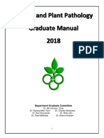 Graduate Manual Plant Pathology
