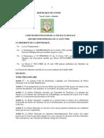 Code de Dc3a9ontologie de La Police Nationale