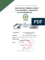 Ley de Agua Del Peru