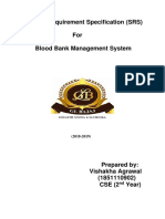 Blood Bank Management System(BBMS)