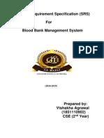 Blood Bank Management System(BBMS)