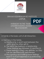 harmony in family ppt by umesh jangir