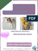 Revista Amigurumi PDF Gratis Receitas Em Portugues