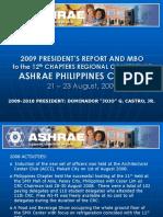2009-President Report & MBO