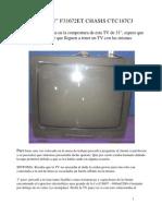TV RCA chasis CTC187CJ  falla y reparacion