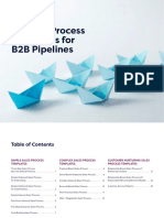 Nutshell 16 Sales Process Templates B2B Pipelines 1.0