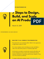 7 Steps to Design Build and Scale an AI Product - Allie K Miller - March 2019 (1)