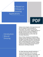 Biomaterials Based on Chitin and Chitosan in Wound Dressing Applications