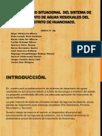 Diagnóstico Situacional Del Sistema de Tratamiento de Aguas Residuales Del Distrito de Huanchaco