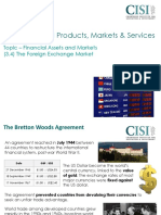 3 the Foreign Exchange Market