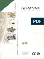 Ayvaz Flexible Coupling Catalog