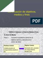 Objetivos, Medios, Fines y Alternativas