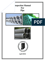 Inspection Manual for Pipe