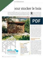 Système D - Un Abri Pour Stocker Le Bois