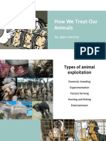 how we treat our animals