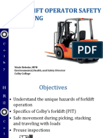 Fork Lift Training Colby2