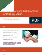 ABG (Arterial Blood Gases) Analysis
