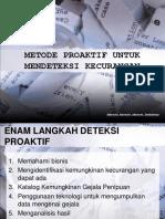 Six Step Proactive Fraud Indonesia